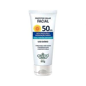 Protetor Solar Facial FPS 50 Flores & Vegetais 60g