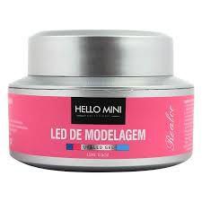 Led De Modelagem UV&LED Gel 09 Pink Hello Mini 15ml