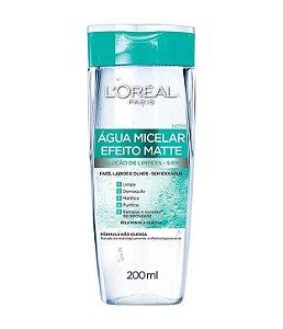 Água Micelar efeito matte L'Oréal Paris