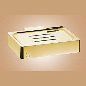 Saboneteira Quadro Fashion Dourado