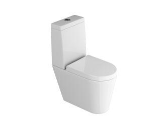 Bacia c/ caixa acoplada e assento slow (LK)