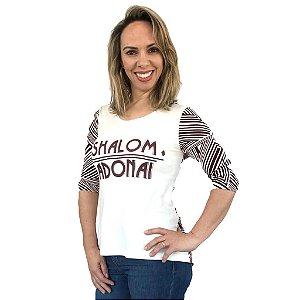 SHALOM 3/4 (GEOMETRICO) - PLUS SIZE