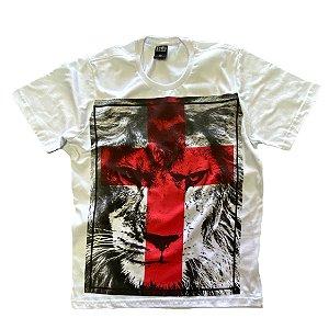 Leão de Judá - cruz vermelha (I)