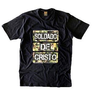 SOLDADO (C) PRETA COM CAMUFLADO - XG