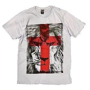 Leão de Judá - cruz vermelha (C) G1