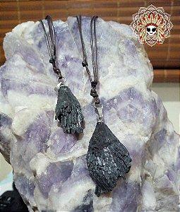Colar cristal Vassoura da Bruxa purificação, proteção e aterramento
