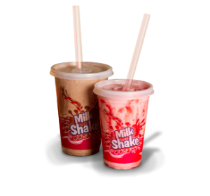 Canudo Milk Shake 8 Mm Strawplast Cx 2000 Un
