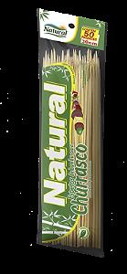 Espetinho De Bambu 30 Cm Natural Pct 50