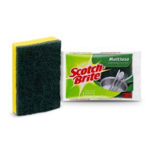 Esponja Dupla Face Scotch-Brite