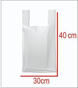 Sacola Plástica 30X40 Light Branca