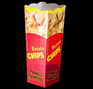 Caixa Cachepot - Pipoca / Batata Chips