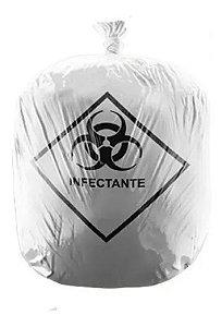 Saco de Lixo Infectante Branco - Hospitalar