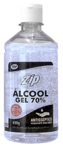 Zip Clean Álcool Gel 70%