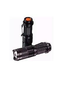 Lanterna com Led Brilhante e Zoom 5104 XML T6 Paullo Star-Polis