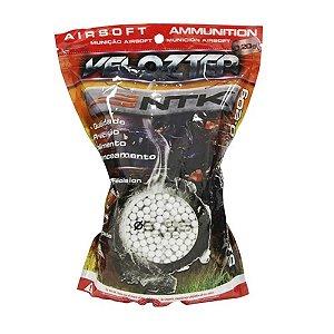 Munição para Airsoft Esfera 0,20 gramas Velozter NTK Tático