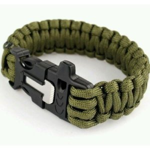Pulseira Paracord Survival Guepardo