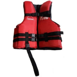 Colete Salva Vida Esportivo 90 Kg Costa Marítima