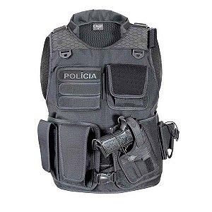 Capa de Colete Tactical Soft Impact CM1001 Destro Cia Militar
