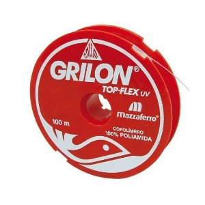 Linha Grilon Top-Flex UV 0,45 mm 100 m Mazzaferro