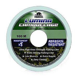 Linha Lumina Camouflage 0,30 mm 100 m Fishbull