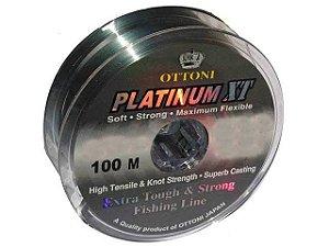 Linha Platinum XT 0,60 mm 100 m Ottoni