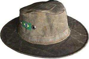 Chapéu de Lona Envelhecida