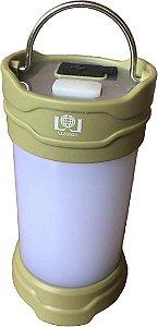 Lampião de Camping Multifuncional Recarregável LL82033