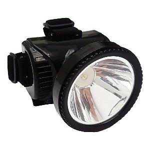 Lanterna de Cabeça Recarregável 1 Led - 3W Yaha