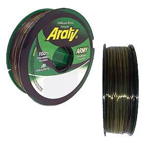 Linha Araty Army Bicolor 0,25mm 100 m  Mazzaferro