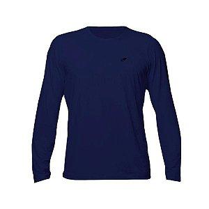 Camiseta Dry Action UV 2A Marinho Manga Longa Masculina Mormaii