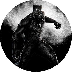 Capa Personalizada para Estepe Ecosport Crossfox Pantera Negra Marvel 13