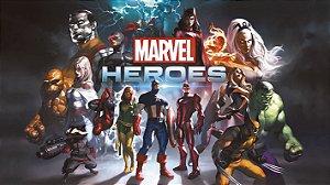 Painel de Festa Infantil Personalizado em Tecido Tema Heróis da Marvel 2