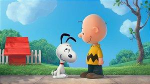 Painel de Festa Infantil Personalizado em Tecido Tema Snoopy 6