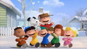 Painel de Festa Infantil Personalizado em Tecido Tema Snoopy 7