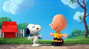 Painel de Festa Infantil Personalizado em Tecido Tema Snoopy 8