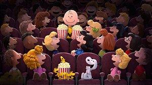 Painel de Festa Infantil Personalizado em Tecido Tema Snoopy 10