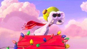 Painel de Festa Infantil Personalizado em Tecido Tema Snoopy 11