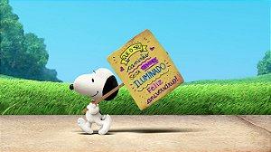 Painel de Festa Infantil Personalizado em Tecido Tema Snoopy 15