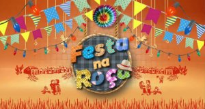 Painel de Festa Infantil Personalizado em Tecido Festa Junina 138x74cm 2