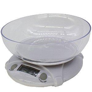 Balança Digital de Tigela 7kg Cozinha