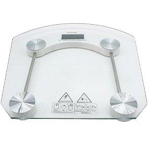 Balança Digital Vidro Temperado 180kg Banheiro Academia
