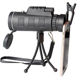 Monóculo Luneta 40x60 Profissional Tático Telescópio