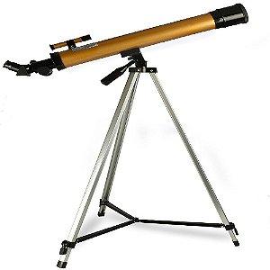 Telescópio Astronômico Refrator Profissional 50/100x