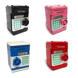 Mini Cofre Eletrônico Digital Senha para Notas e Moedas