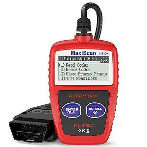 Scanner Automotivo Leitor de Códigos MS309 MaxiScan OBD II