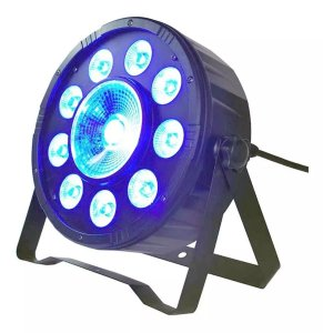 Canhão de Luz Par 10 Led RGB Profissional Festa Balada DMX