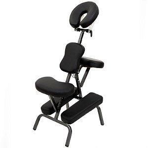 Cadeira de Massagem Quick Massagem Shiatsu Dobrável Portátil com Bolsa