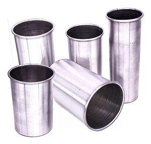 Kit 5x Culotes em Alumínio para Prensa Sublimação Long Drink