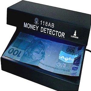 Identificador Detector de Nota Falsa Dinheiro Cheque