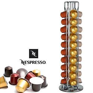 Porta Cápsula Nespresso Suporte Em Metal Para 40 Cápsulas